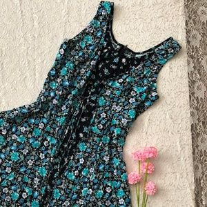 VTG GRUNGE 90S SLEVELESS MINI DRESS
